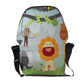 Jungle Fun Courier Bag