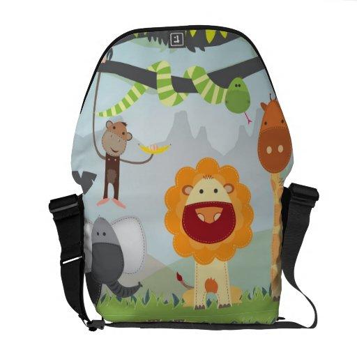 Jungle Fun Courier Bag