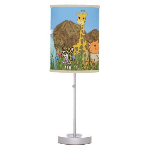 Jungle Fun Desk Lamps