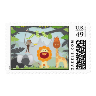 Jungle Fun Stamp