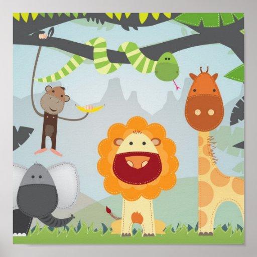 Jungle Fun Poster