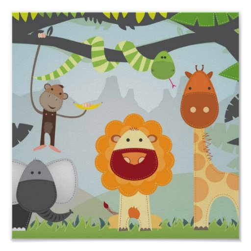 Jungle Fun Print