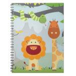 Jungle Fun Spiral Note Books