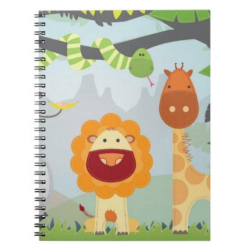 Jungle Fun Spiral Notebook