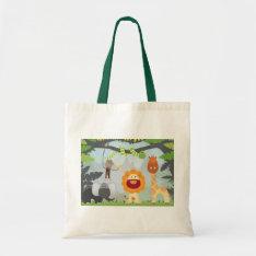 Jungle Fun Tote Bag at Zazzle