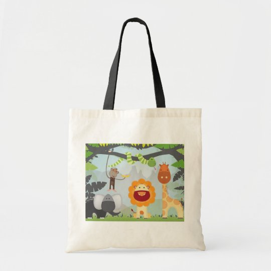 Jungle Fun Tote Bag