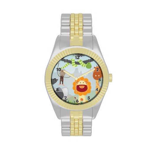 Jungle Fun Wrist Watch