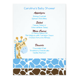 1 000 baby shower menu invitations baby shower menu announcements