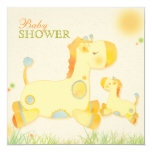 Jungle Giraffe: Whimsical Baby Shower Invitations