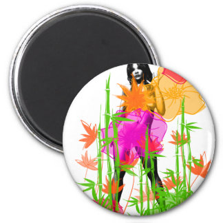 Jungle Girl1 Magnet