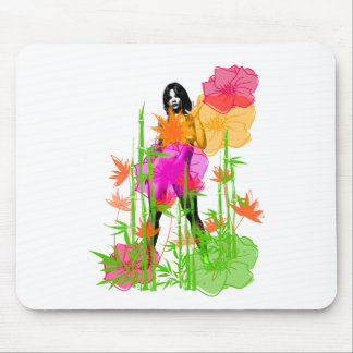 Jungle Girl1 Mouse Pad