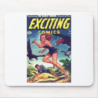 Jungle Girl and Condo Mouse Pad