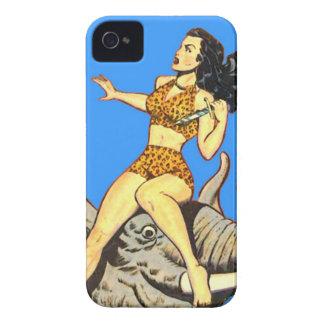 Jungle Girl - Vintage Comics Congo Wild Woman! Case-Mate iPhone 4 Case
