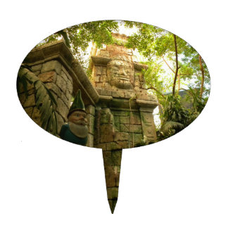 Jungle Gnome Cake Topper