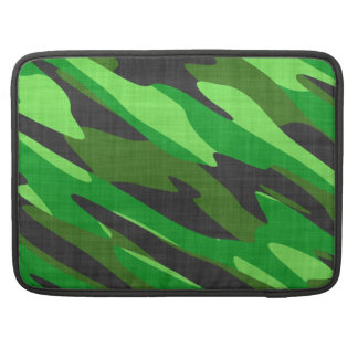 jungle green army camouflage textured sleeves for MacBooks