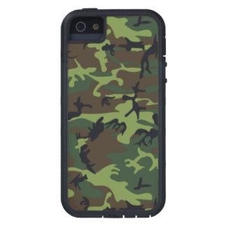 Jungle Green Camo iPhone 5 Covers