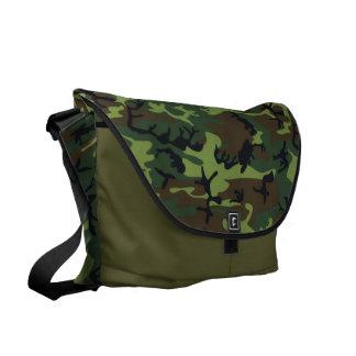 Jungle Green Camo Messenger Bag