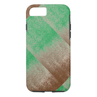 Jungle Green Distressed Effect Chenille Modern iPhone 7 Case