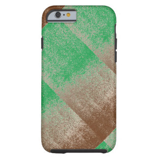 Jungle Green Distressed Effect Chenille Modern Tough iPhone 6 Case