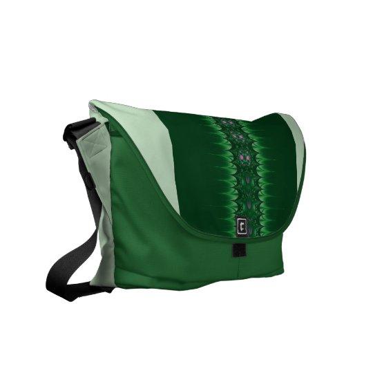 Jungle Green Rickshaw Messenger Bag