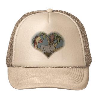 Jungle Heart Trucker Hat