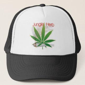 jungle herb trucker hat