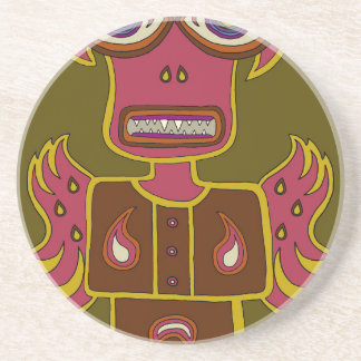 Jungle Ifrit Drink Coaster
