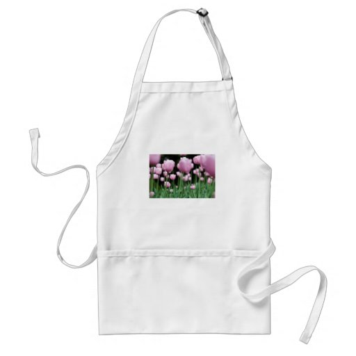 jungle in pink adult apron