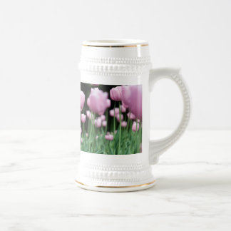 jungle in pink beer stein