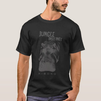 Jungle Instinct™_Kiboko_hippo (for dark) T-Shirt