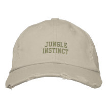 Jungle Instinct™ label_Ladies Trekkers Embroidered Baseball Hat