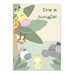 Jungle invitation