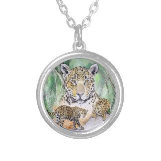 Jungle Jaguar Watercolor Fine Art Jewelry