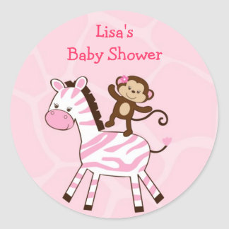 Jungle Jill Jungle Animal Party Favor Stickers