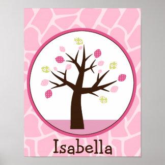 Jungle Jill /Tree Personalized Art Poster