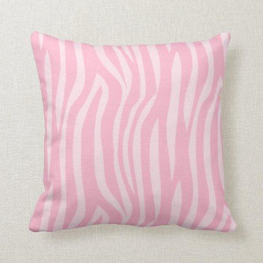 Pink Decorative Pillows : Zebra Decorative Pillows. Jungle Jill Zebra Pink Pattern Decorative Pillow Zazzle. Decor ...