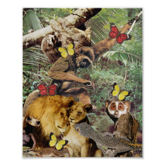 Jungle Jive print