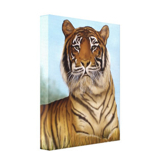 Jungle King Gallery Wrapped Canvas