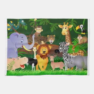 Jungle Kitchen Towel