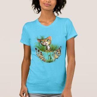 Jungle kitten cute baby tee shirts