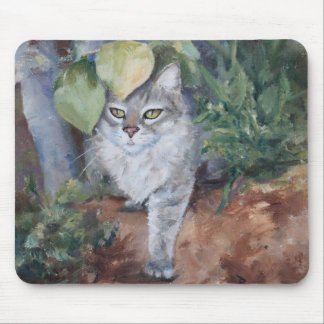 Jungle Kitty Mouse Pad