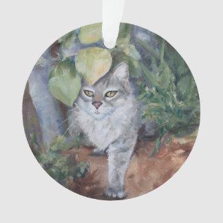 Jungle Kitty Ornament