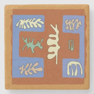 Jungle Leaves Stone Coaster