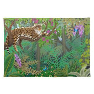 Jungle Leopard at Rest Placemat