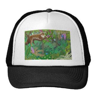 Jungle Leopard Mesh Hat
