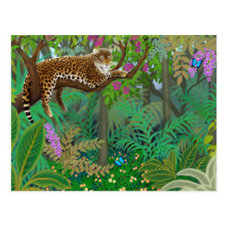 Jungle Leopard Postcard