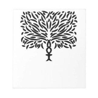 Jungle Life Tree Notepad