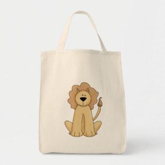 Jungle Lion Canvas Bag