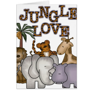 Jungle Love Greeting Cards