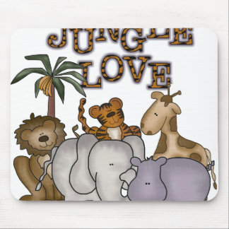 Jungle Love Mouse Pads